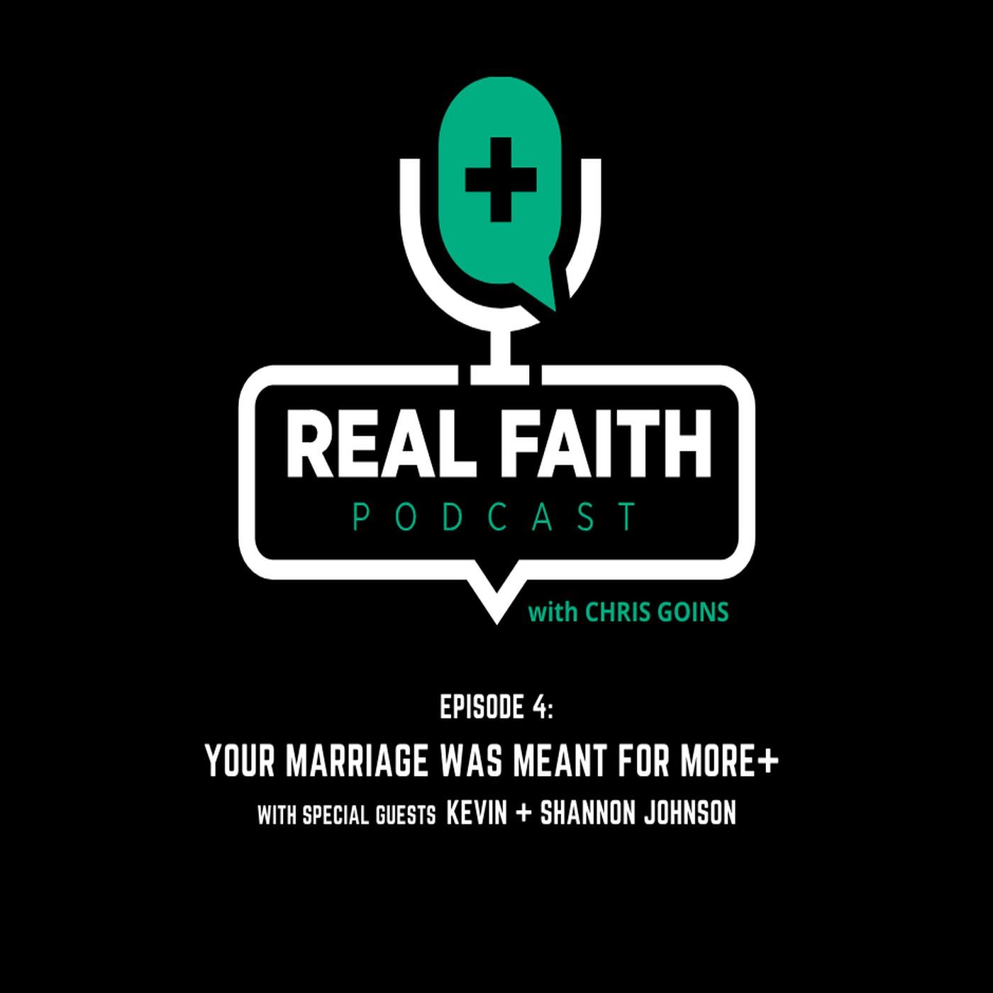 The REAL FAITH Podcast with Chris Goins