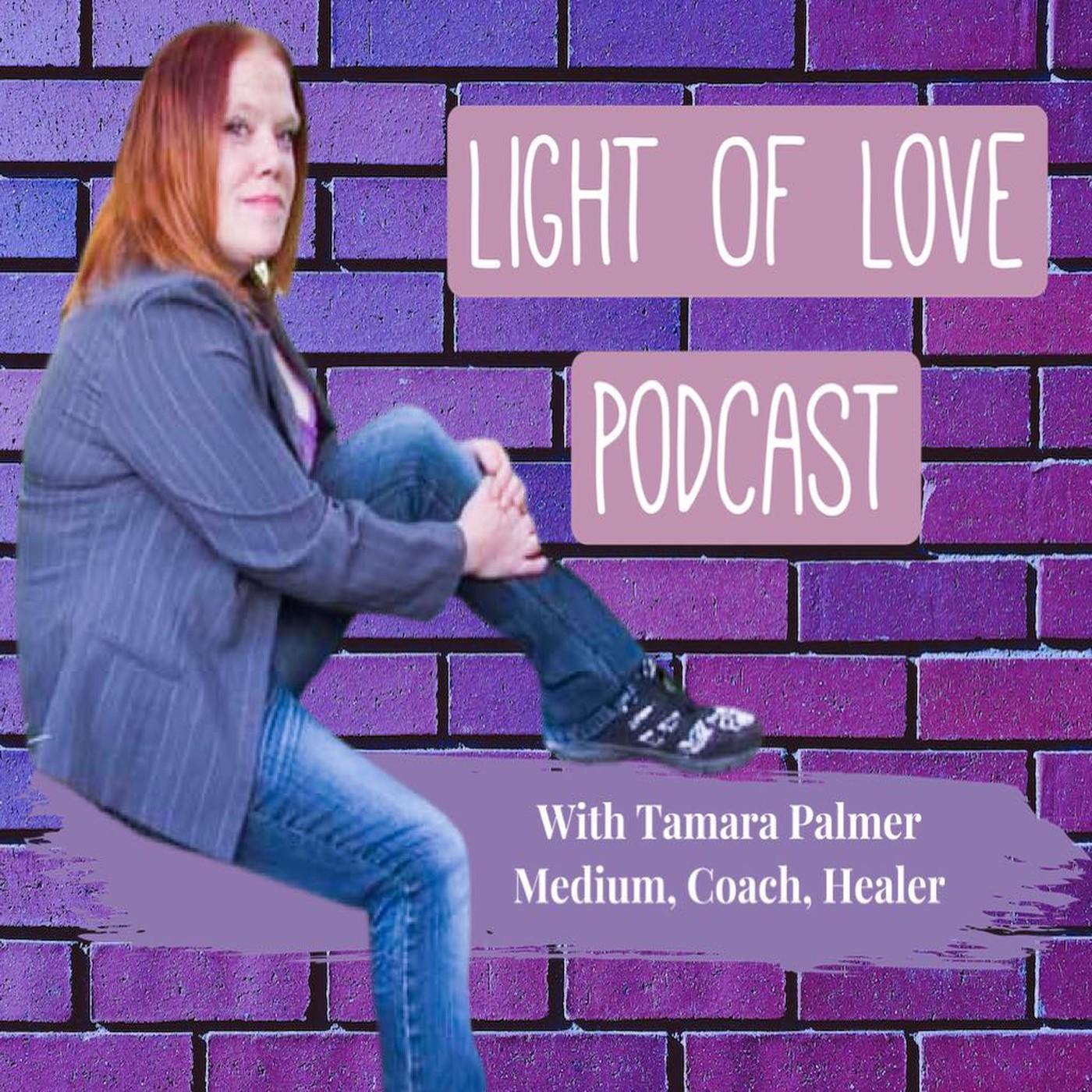 Light Of Love Podcast with Tamara Palmer Medium, Coach, Healer
