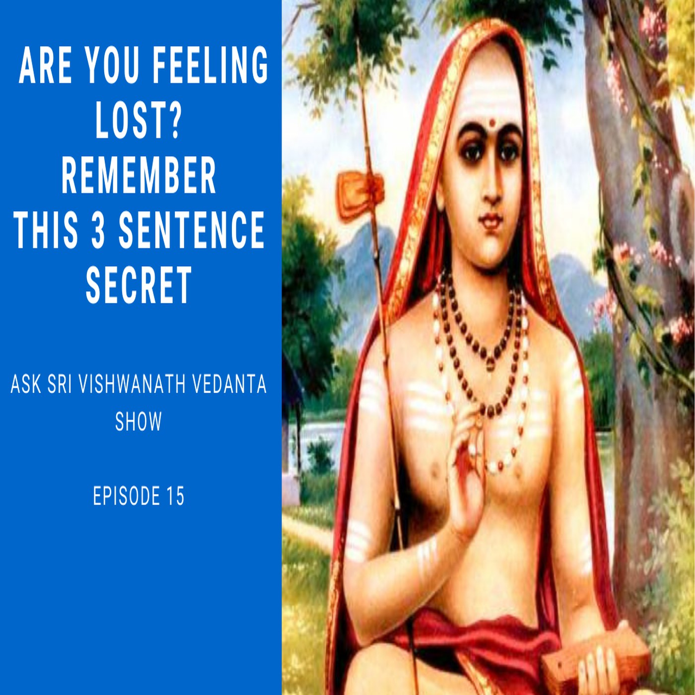 10 Minute Vedanta Sessions from Ask Sri Vishwanath Vedanta Show.  The Fastest Way to Attain Self Realisation and Solve Complex problems of your Life