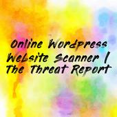 Online Wordpress Website Scanner | The Threat Report