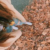 Russelling in the leaves