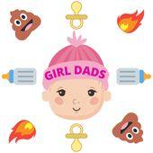 #GirlDads