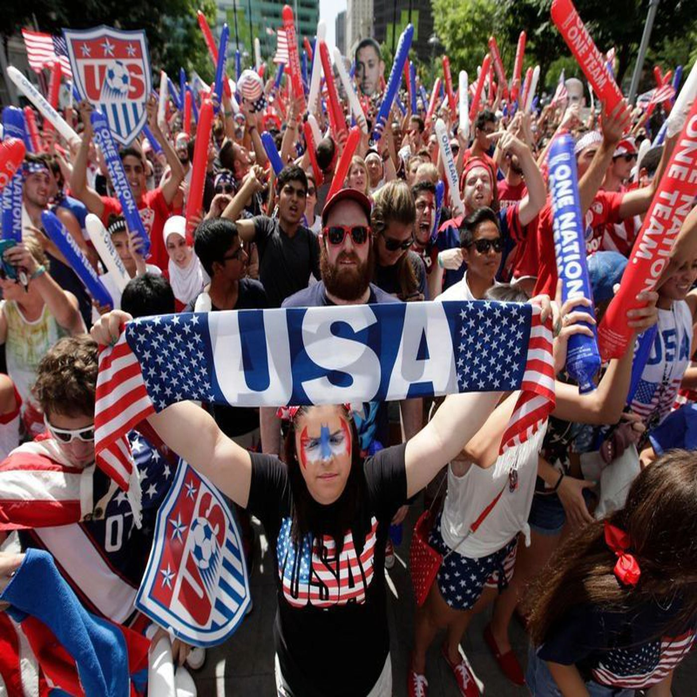 STAND UP FOR THE USA