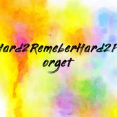 Hard2RemeberHard2Forget